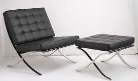 La Chaise Barcelone de  Mies van der Rohe