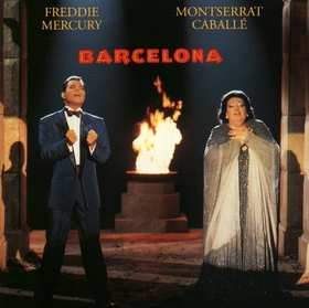 "'Barcelona"" la couverture de l'album"