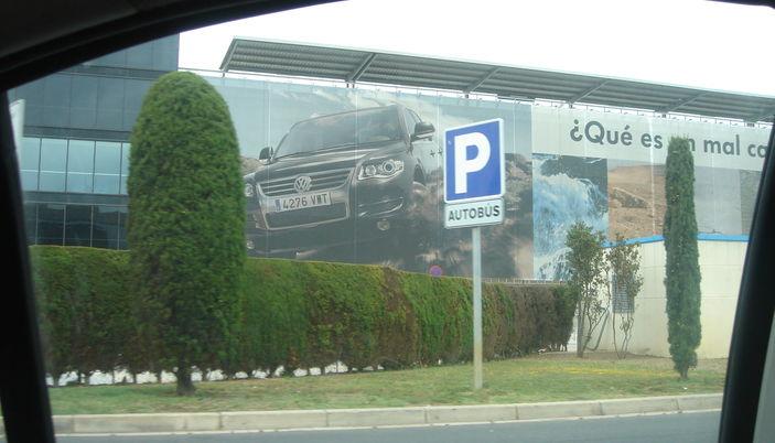 Parcheggio aeroporto di Barcellona