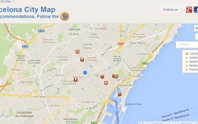 Barcelona quater maps