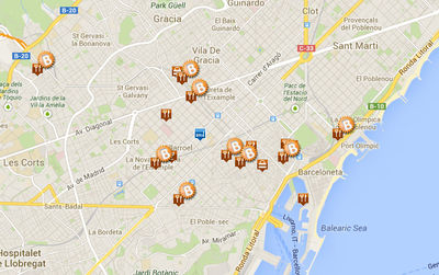Karta Barcelona Metro.Barcelona Map Interactive Map City Maps Of Barcelona Tourist