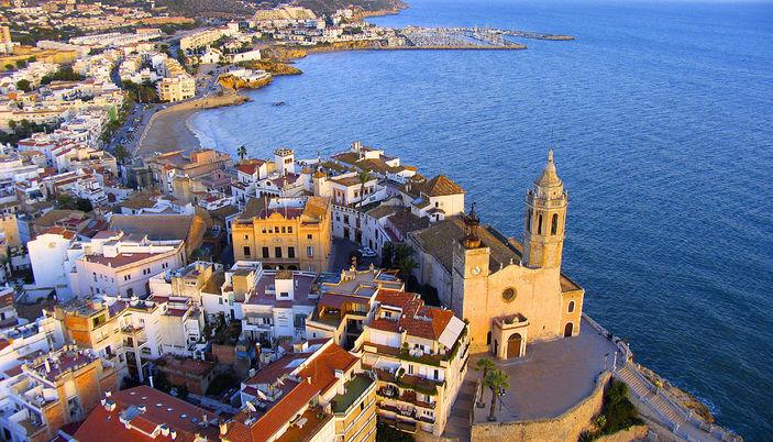 Tourisme à Sitges sur la Costa Dorada