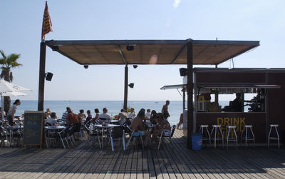 Visit with us the Barceloneta