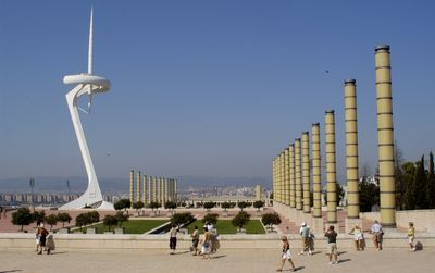 Visit with us the Montjuic