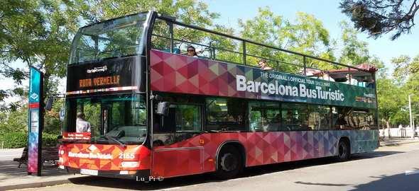 Les Itinraires Des Bus Touristiques De Barcelone