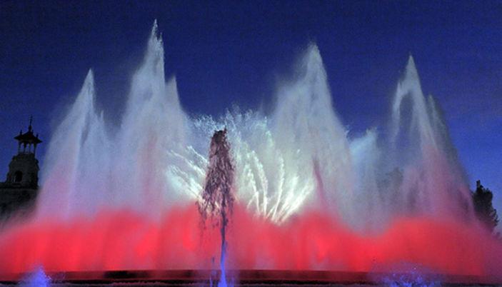 Barcelona Magic Fountain of Montjuïc