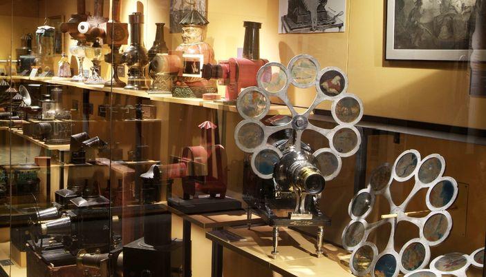 Museo Del Cinema.The Cinema Museum In Girona