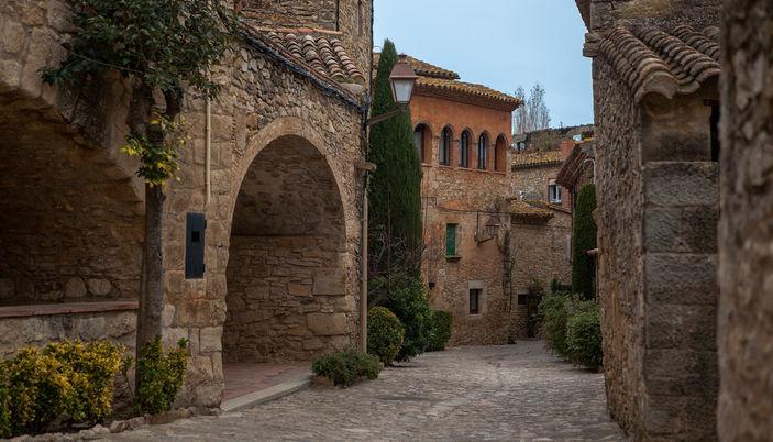 The Iberic village of Peratallada