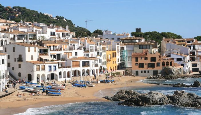 Palafrugell Is A Little Town 5 Km From The Coast