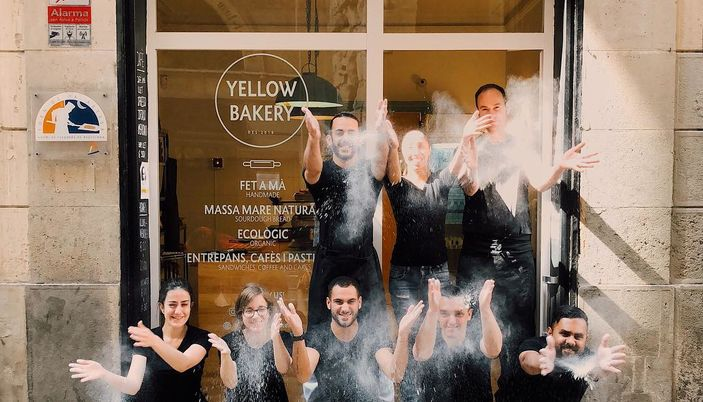 Yellow Bakery - Barcelona