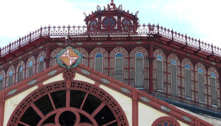 mercat de sant antoni in barcelona   sant antoni market