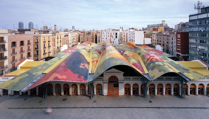 Born Barcelone - Marché saant Catarina