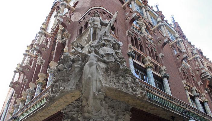 Music palace palau de la m sica catalana in barcelona - Saunas en barcelona ...