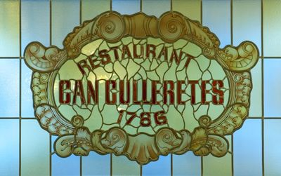 Can Culleretes - Barcelona