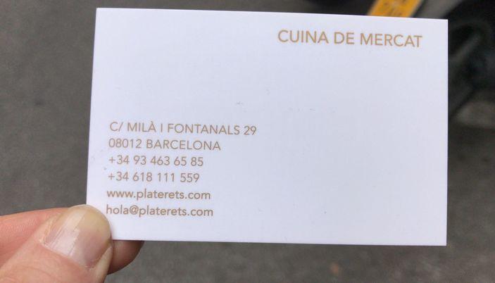 Platerets - Barcelona
