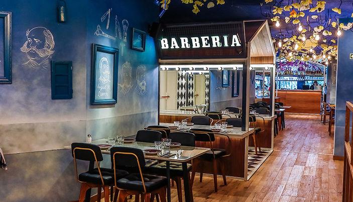 Bellavista Del Jardin Del Norte Restaurant In Barcelona