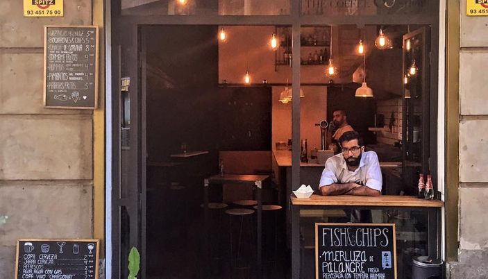 The fish & chips shop - Barcelona