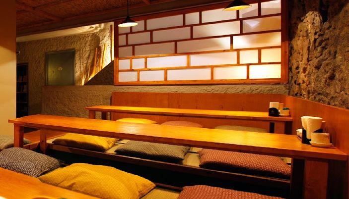 The tatami room restaurant japonais à barcelone