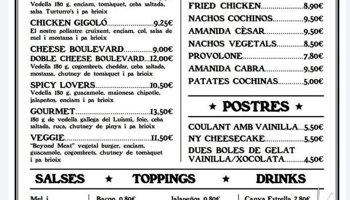 Turturro's Burgers - Barcelona