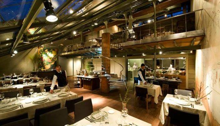 Tragaluz ristorante a barcellona - Restaurant umo barcelona ...
