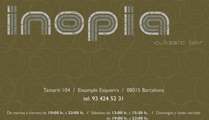 Inopia Classic Bar - Barcelona