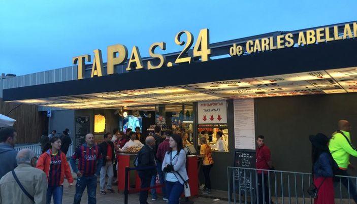 Tapas 24 camp nou ristorante a barcellona for Hotel vicino al camp nou