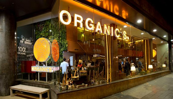 organic 39 s fast food restaurant in barcelona