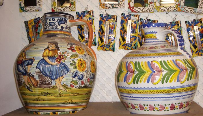 El Balconet pottery