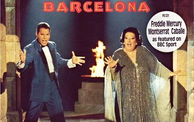 Barcelona the song and album by Freddie Mercury