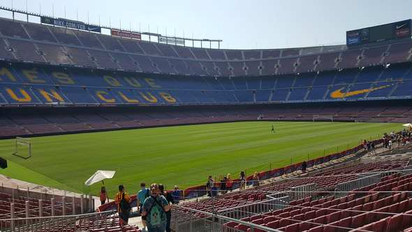 294ddb5de40 Camp Nou Tour   FC Barcelona Stadium and Museum