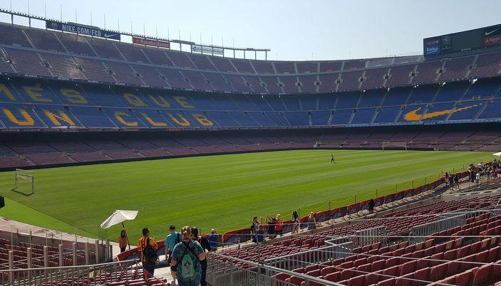 Visite du stade de Camp Nou