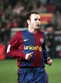 Andrés Iniesta - FC Barcelone
