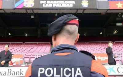 Camp nou safety regulations