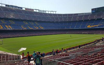 Attention ! Les jours de match le Camp Nou est partiellement fermé.