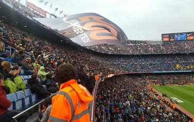 Où se placer dans le stade du Camp Nou