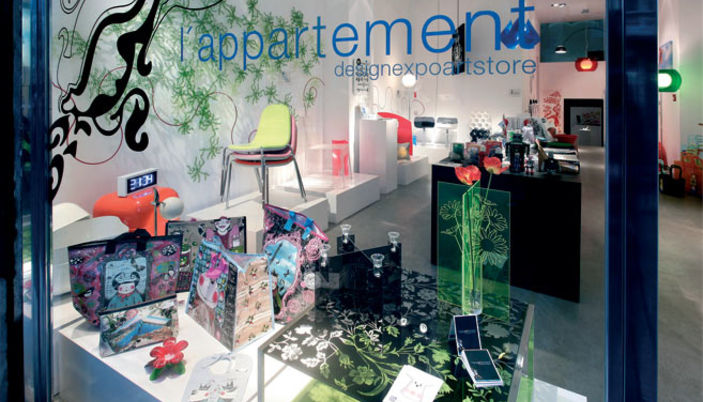 Lu0027appartement A Designexpoartstore In Barcelona