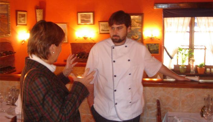 La Llar dels Pescadors: Lluis the chef