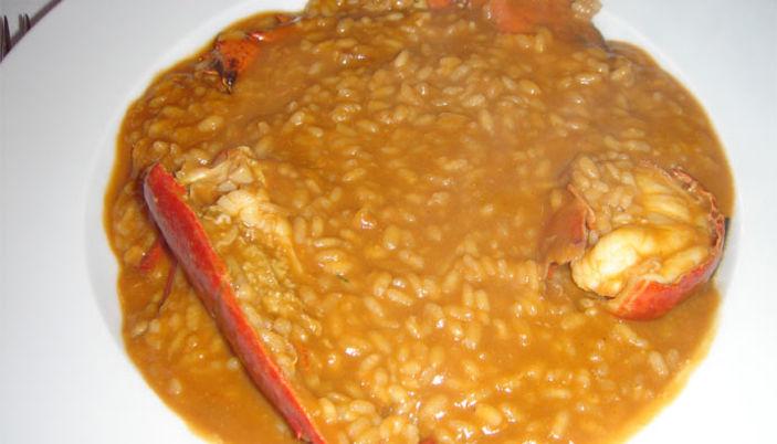 La Llar dels Pescadors: Lobster rice!!