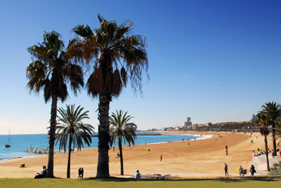 Barcelona beach spain - ©dzain - Fotolia.com