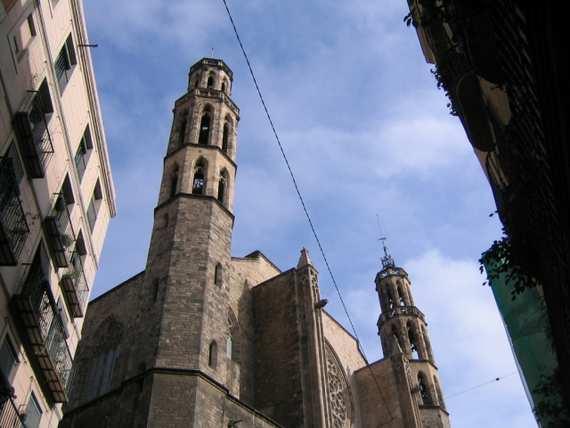 Santa Maria del Mar in Barcelona