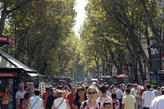 Las Ramblas Barcelona Las Ramblas Photo Tour Barcelone Media Barcelona Com
