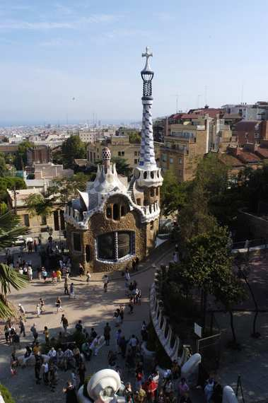 Guell's park in Barcelona