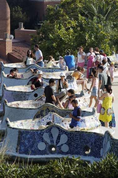 Guell's Park - Gaudi - Barcelona