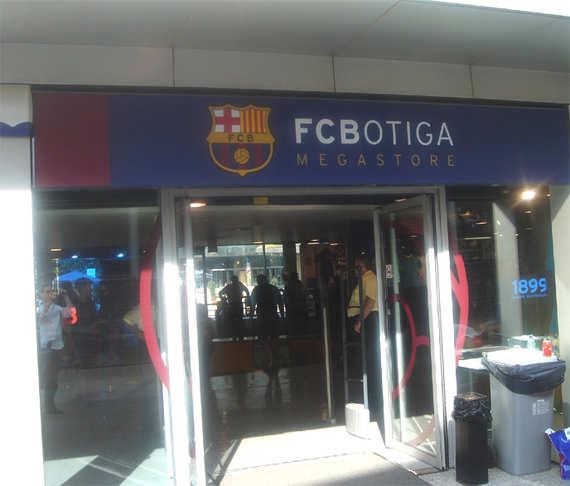 FC Barcelona s Store