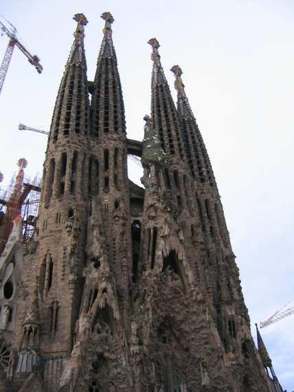 The Sagrada Familia Gaudi - Barcelona -