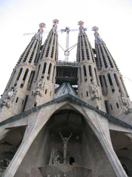 The Sagrada Familia Gaudi - Barcelona -