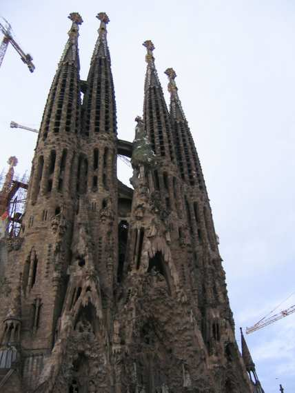The Sagrada Familia Gaudi - Detail