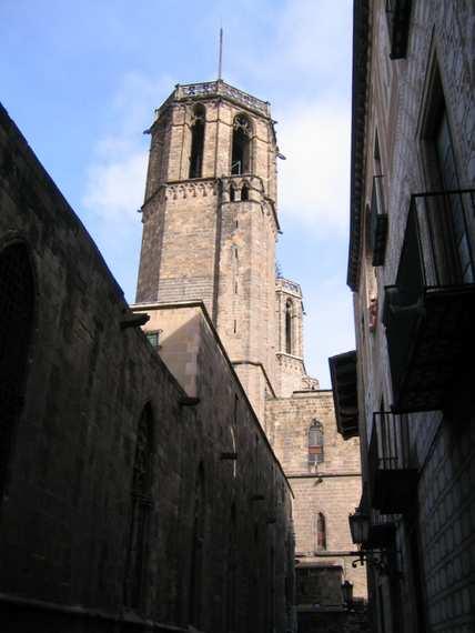 Church Santa Creu - Barcelona