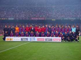 FC Barcelona - The team