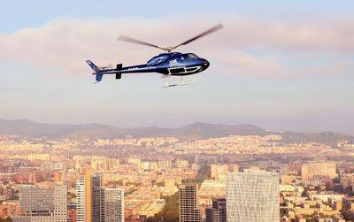 Barcelona: 12 Minuten Hubschrauberflug